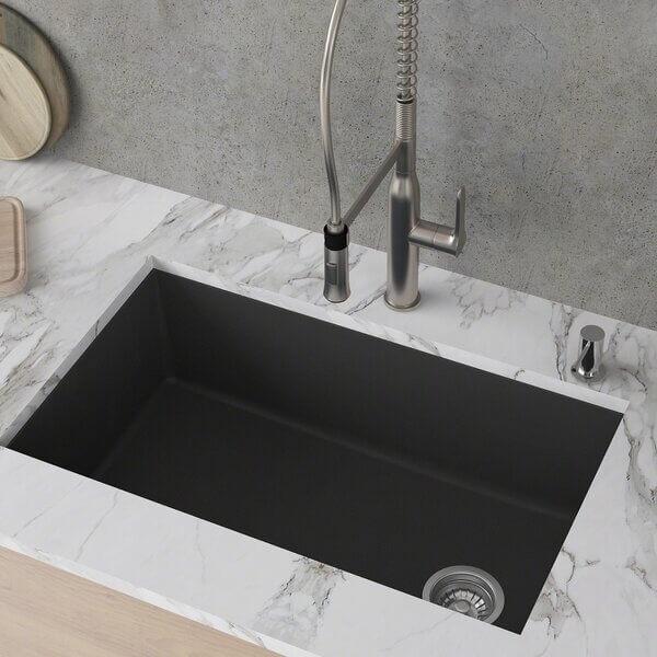 Undermount Granite Composite Kitchen Sink